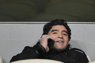 """Ultimul mesaj vocal transmis de Maradona înainte să moară: """"Ai grijă și de îngerul meu"""""""
