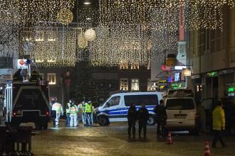 """Cel puțin 5 morți în Germania. Un bărbat """"cu tulburări psihice"""" a intrat cu mașina într-o zonă pietonală"""