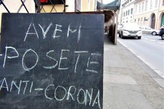 Patronul unui magazin din Sibiu își anunță clientele că