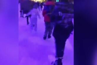 Înghesuială pe patinoarul din Cernavodă, în plină carantină