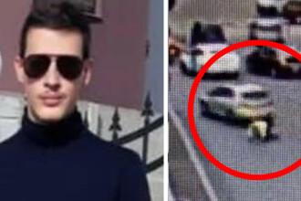 Cine e tânărul care a lovit cu mașina un polițist. S-a aflat cu ce se ocupă tatăl lui