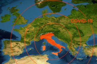 Italia va introduce o carantină obligatorie de 5 zile pentru persoanele sosite din țările UE