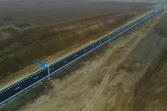 Primul lot din Autostrada Moldovei s-a stricat la câteva ore după inaugurare.