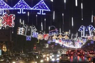Cand se vor aprinde luminitele de Craciun in Bucuresti. Anuntul autoritatilor