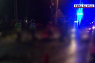 Doi oameni au murit în Argeș după ce șoferul a încercat să evite un câine