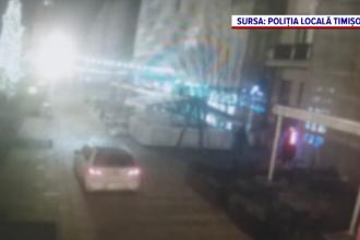 Ce a descoperit poliția după ce a amendat un șofer care a intrat cu maşina într-o zonă pietonală