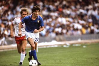 A murit Paolo Rossi, atacantul care a condus naţionala Italiei la victorie în Cupa Mondială din 1982