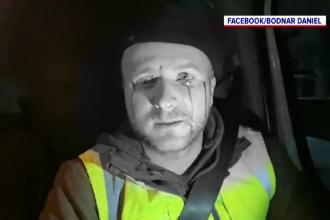 Activistul de mediu Daniel Bodnar, atacat cu pietre de mai mulți bărbați care transportau lemne tăiate ilegal