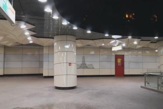 VIDEO. Plouă din nou în stația de metrou Eroilor 2, inaugurată în urmă cu nici 3 luni