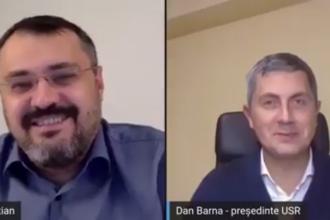 VIDEO. O discuție filmată între Dan Barna și Cristian Ghinea a stârnit reacții dure în USR