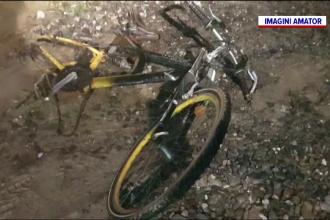 Un copil pe bicicletă a fost spulberat de o mașină. Ce a făcut băiatul chiar înainte de accident