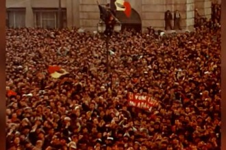 31 de ani de la Revoluția din Timișoara. Protest față de participarea AUR la comemorare