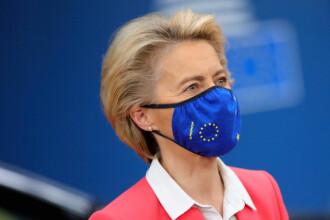 """Ursula von der Leyen: """"După pandemie nu există posibilitatea de a ne întoarce la economia bazată pe combustibili fosili"""""""