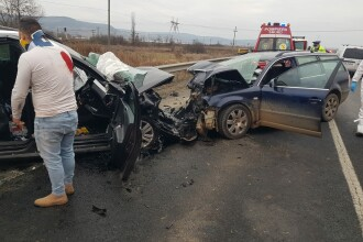 Accident grav produs pe DN1, în județul Sibiu. Două persoane au murit. FOTO