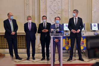 Lista completă a miniștrilor propuși în viitorul Guvern al premierului desemnat Florin Cîțu
