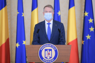 Președintele Klaus Iohannis: Începând de luni, majoritatea copiilor merg fizic la școală