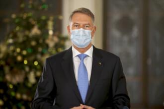 """Mesajul transmis de președintele Klaus Iohannis, cu ocazia Crăciunului: """"Să-i protejăm pe cei dragi"""""""