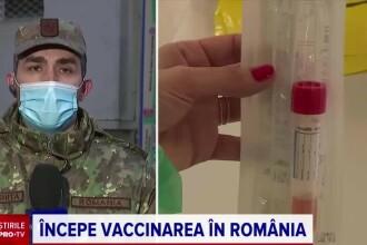 """România a început, oficial, vaccinarea împotriva Covid-19. Dr. Gheorghiță: """"Era un moment așteptat"""""""