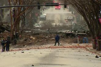 Anchetatorii consideră explozia din Nashville drept atentat sinucigaș