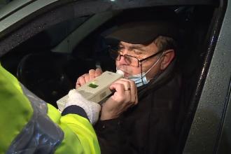 Controale ale polițiștilor rutieri, în Capitală. 22 de persoane au rămas fără permis