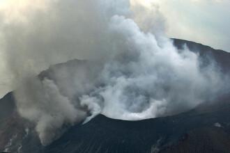 Erupție vulcanică în sudul Japoniei. Autoritățile au emis nivel de alertă ridicat