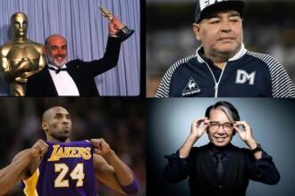 RETROSPECTIVĂ 2020. Personalități marcante pe care omenirea le-a pierdut în acest an