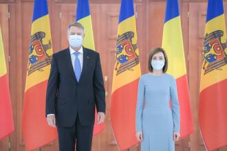 Klaus Iohannis la Chișinău. România ajută Republica Moldova cu 200.000 de doze de vaccin anti-Covid