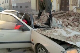 Cutremur puternic în Croația, cu magnitudinea 6,4. Cinci persoane au murit, printre care și o fetiță de 12 ani