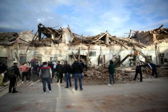 Cutremur puternic în Croația
