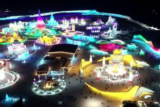 Orașul de cleștar din basme există cu adevărat, în China. A avut 20.000 de vizitatori în prima zi