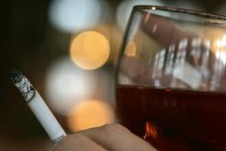 Revista presei: Romanii beau si fumeaza de 200 de milioane de euro/luna!