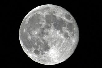 Priveste luna care iti taie rasuflarea!