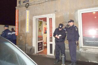 Brasov: ancheta jafului de la casa de schimb s-a mutat in strada