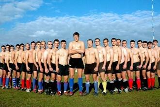 Cel mai sexy calendar: rugbystii de la Stiinta Baia Mare fac senzatie!