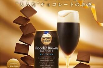 Ce-ai zice de o bere cu ciocolata?