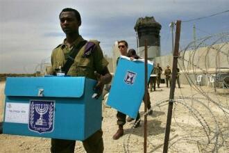 Partidul de la guvernare din Israel, pe punctul de a fi reales