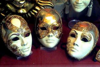 Masti, costume si multa culoare! Incepe carnavalul de la Venetia