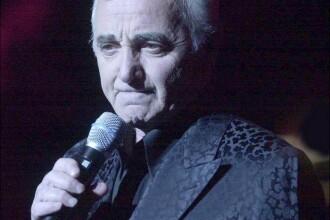 Charles Aznavour e ambasadorul Armeniei in Elvetia