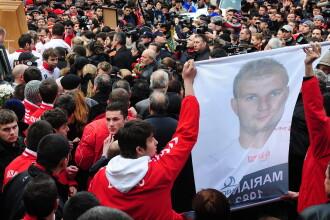 Marian Cozma a fost inmormantat, dupa o saptamana de jale