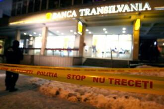 Jaful de la banca din Cluj, planuit la secunda! Autorii sunt profesionisti!