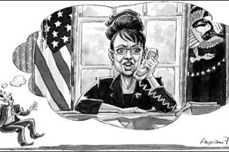 Sarah Palin, noul presedinte al SUA