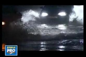 A venit potopul! 160 de gospodarii inundate grav in Craiova!