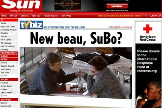 Susan Boyle, virgina de 48 de ani, roseste la prima atingere! FOTO
