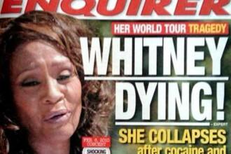 Whitney Houston, spitalizata intr-o clinica din Paris