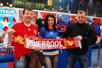 """Gina de la """"Goluri si goale"""" i-a innebunit pe fanii lui Liverpool!"""