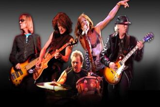 140 RON costa cel mai ieftin bilet la concertul Aerosmith din Bucuresti