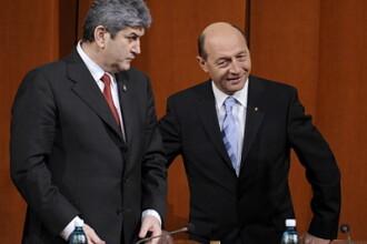 Basescu nu a spus nimic, dupa intalnirea cu UNPR.