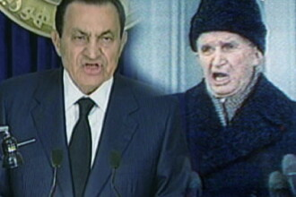 Fotoreporter Newsweek:Ceausescu si Mubarak,