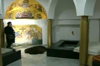 Cripta unde se odihneste IPS Bartolomeu, loc de pelerinaj pentru romani