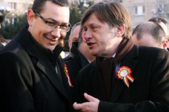 Viitoarea alianta PSD-ACD va avea doi sefi: Ponta si Antonescu